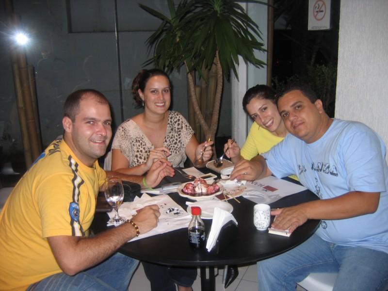 Eu, Renata, Maíra e Fernando