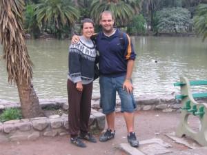 Celeste e eu em Salta
