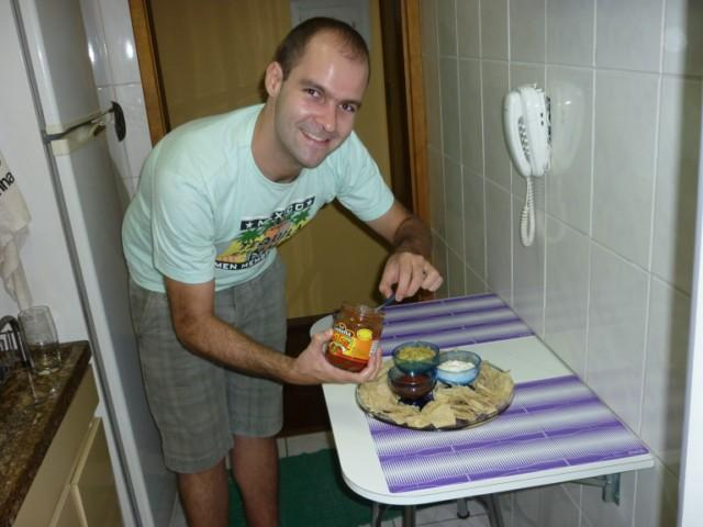 Preparando Nachos
