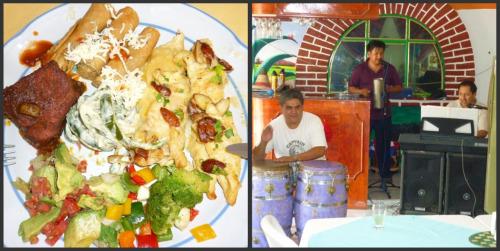 Almoço em Teotihuacan
