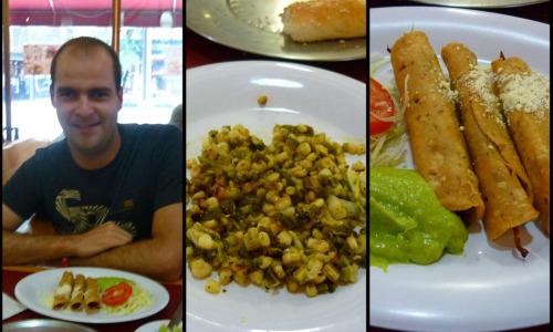 Almoço na Cidade do México