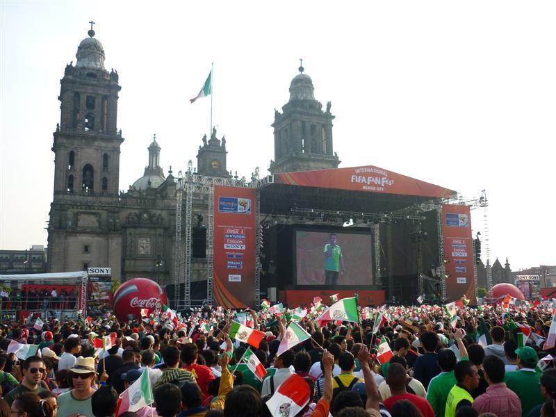 Fifa Fun Fest na Cidade do México