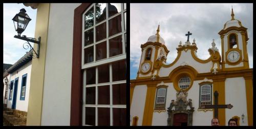 Relexo da igreja e Matriz de Santo Antônio - Tiradentes