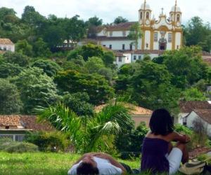 Vista da Igreja S. Francisco de Paula - Tiradentes